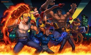Streets of rage by mosthika