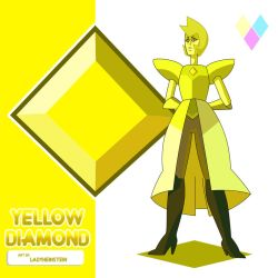 Yellow Diamond by LadyHeinstein