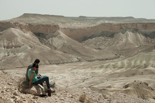 Couple at the Crater by PaulEnsane