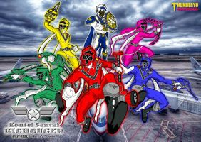 Koutei Sentai KICHOUGER wallpaper version by thunderyo