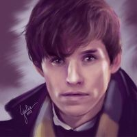 Newt Scamander by JuliaFox90