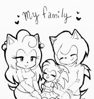 My family by ShadaKKu