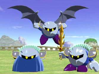 Metaknight Anime by Gale-Kun