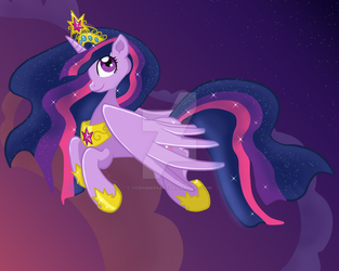 Princess Twilight Sparkle by yoshimarsart