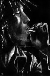 Bob Marley by RiverRune