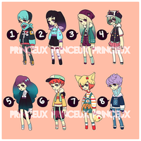 [OPEN 3/8] STREET Warfare: Set Price Adopts by Princeux