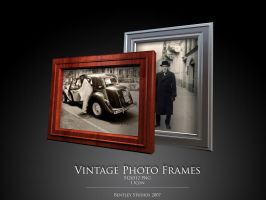 Vintage Photo Frames by thebigbentley