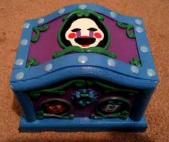 Custom FNaF Music Box by AnScathMarcach