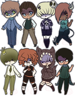 [Adopts] Yandere Boys [CLOSED] by ShatteredSightAdopts