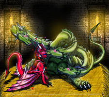 PC Thorn2007 Triple Trouble by DragonHeartLuver