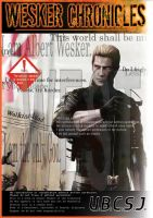 Wesker Book cover1 by wesvin