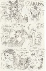 Don't Break the Chain 40 (Drawings #358-#365) by BrownieComicWriter