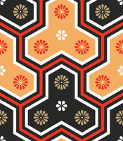 Japanese Pattern by bokuwatensai