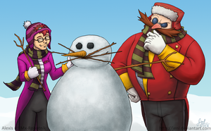 That Snowman Seems Familiar by JenL