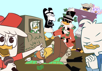 ducktales2017 draw the squad by AnneMate
