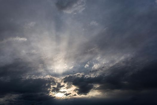 Light Rays Sky Stock by leeorr-stock