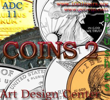 ADC brushes 10 -Coins 2 by 4sundance