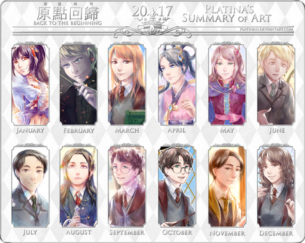 Summary of Art 2017 by PlatinaSi