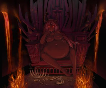 The queen bitch of hell by KipTeiTei