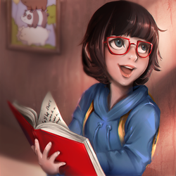 Chloe Park - We Bare Bears by equillybrium