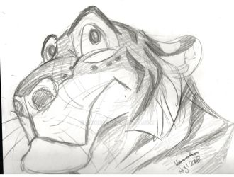 sketch tiger. or Doddle. Just drawing guys... by 56horse