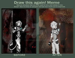 The Before and After by RATchael