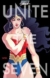 UNITE THE SEVEN: wonder woman by rgm501