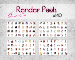 Anime Render Pack by Z-ChanHeart