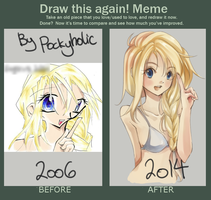 Meme - Draw This Again (Pockyholic) by pockyholic