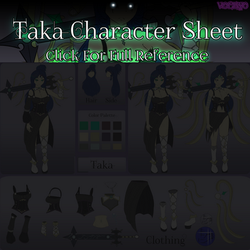 [Commission] Taka Reference(Teaser) by Voleno