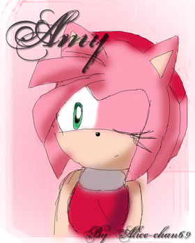 Amy Rose by alice-chan69