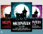 Halloween Flyer/ Poster Template Vol.3 by nsdesigns89