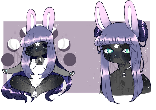 Space Bun - Anthro Adopt Auction [SOLD] by OperaHouseGhost
