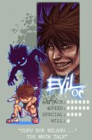 EVIL OC - PIXEL ID FEVER - by Overweight-Cat