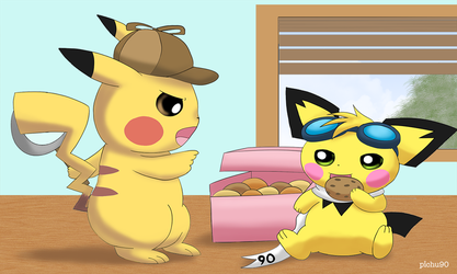 Drop that cookie NOW! by pichu90