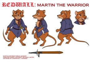 Martin The Warrior Modelsheet by Ebonyleopard