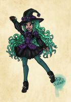 Witch of Gardening~ by Retro-Sushi