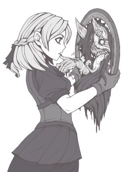 Jane and the demon mirror by AbyssWatchers