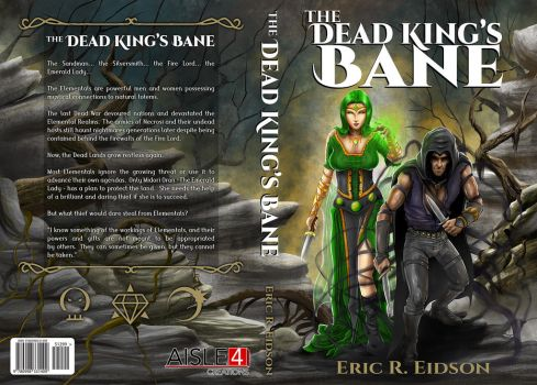 The Dead King's Bane Cover w/ Titles by JeremiahLambertArt