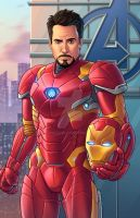 Iron Man - Civil War by JamieFayX