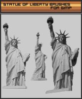statue of liberty brush by crov
