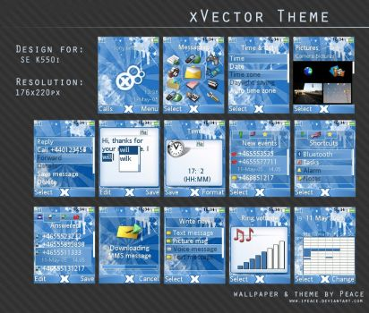 xVector Theme by iPeace
