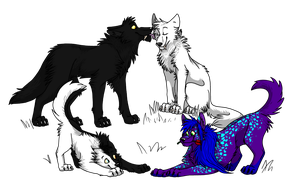 Wolves by Skybird99