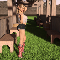 Ashley - Country Girl by SlimMckenzie