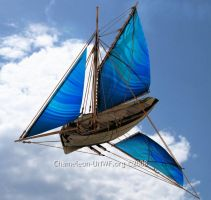 Flying sailing ship by chameleon-unwf