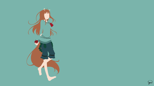 Holo {Spice and Wolf} by greenmapple17