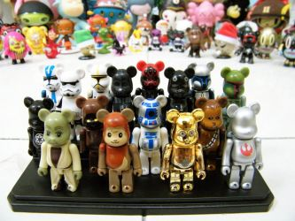 My Designer Vinyl Toys Collection - 2 by naugthy-devil