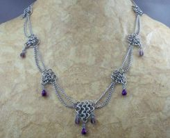 Slinky Small Dart Chainmail Necklace by Pharewings