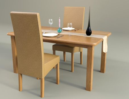 Dining Table Group by john-reilly