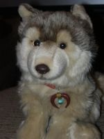 Webkinz Signature Timber Wolf by Colliequest